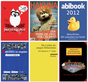Cover - Abibuch/Abizeitung